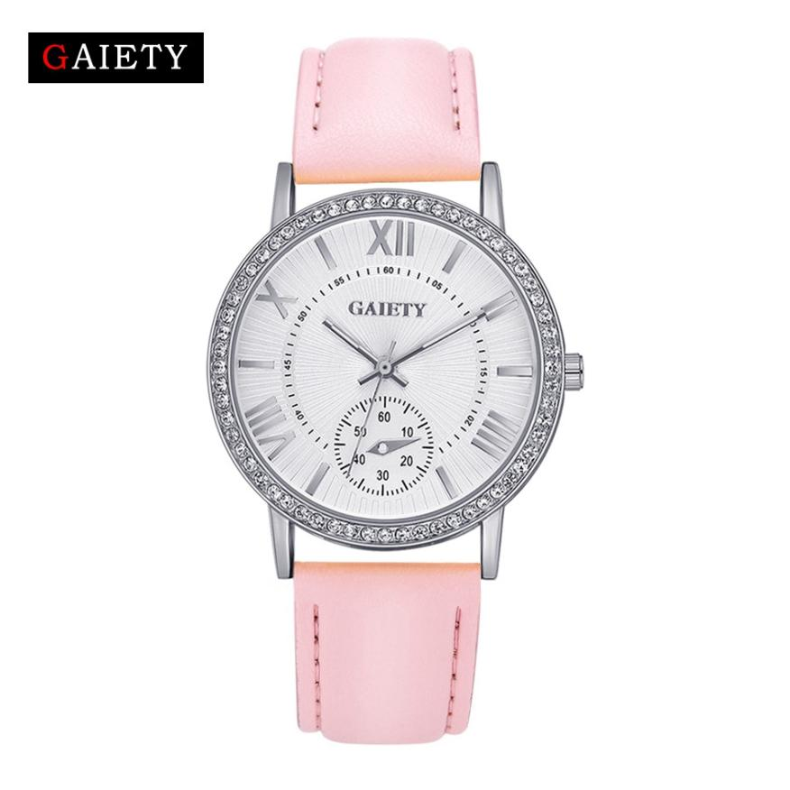 Watches Women Dress Quartz Roman Style Leather Wristwatch Hot Sale Lady Watches Female High Quality Clock Wrist Watch 5/