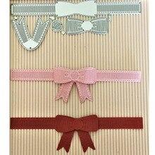 Галстук бабочка сшитые металлический трафарет трафареты для изготовления карт декоративные тиснение костюм бумага карты штамп DIY 15,2*6,3 см