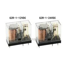 1 шт./лот Мощность реле G2R-1-12VDC G2R-1-24VDC 5PIN 10A открываются и закрываются G2R-1-E-12VDC G2R-1-E-24VDC 8PIN 16A открываются и закрываются