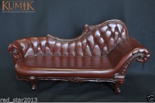 1:6 Scale Brown Plastic Sofa Furniture For 12