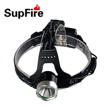 Supfire HL31 Headlamp 1500 Lms CREE XML-T6 Outdoor HeadLight Rechargeable by 18650 Battery for  Fishing or Camping