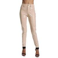 New Color PU Leather Pants Women Pants Sexy Celebrity Bodycon Pencil Pants