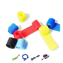 50Pcs Colorful Practical 2cm*17.5cm Cable Ties Nylon Strap Power Wire Management Marker Straps orico cbt cable manager nylon cable mark colorful ties label brand belting ribbon wire binging strap seals for your computer