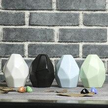 Керамическая ваза для сухих цветов, Современная Скандинавская гостиная, обеденный стол, Высококачественная декоративная настольная ваза, домашний декор E