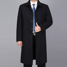 2020 New Arrival Men Woolen Coat Winter Long Coat Men Pea Coat Winter Jackets Autumn Mens W