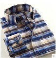 Smart Five New 2016 Autumn-Summer Long Sleeve Cotton Casual Plaid Shirt Men Slim fit