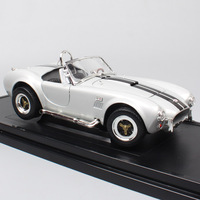 1/18 scale big vintage Ford Shelby Cobra 427 S/C AC 1964 sports cars model Diecast Vehicle of children hobby collection Replicas