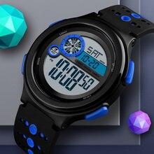 Men Digital Sports Watch Top SKMEI Brand Countdown Waterproo
