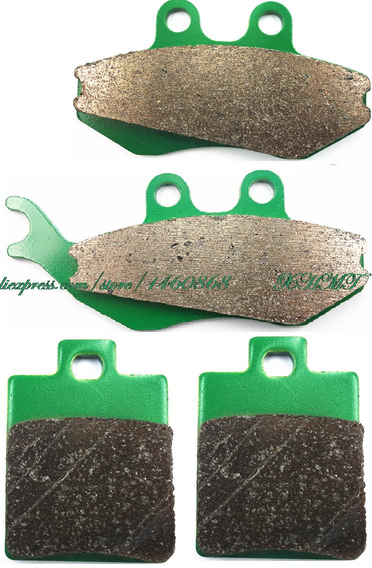 Bremsbacken Pads Set für CPI GTS 50/125/200 2002 2003/PIAGGIO SUPER HEXAGON 180...