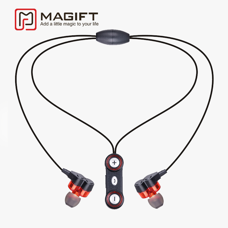 Magift Professional In-Ear Earphone Sport Running Bluetooth APT-X Headset With Mic for iphone xiaomi samsung MP3 fone de ouvido for xiaomi 3 5mm in ear stereo sport earphone with mic remote wire voice control earphone for xiaom smartphone fone de ouvido pc