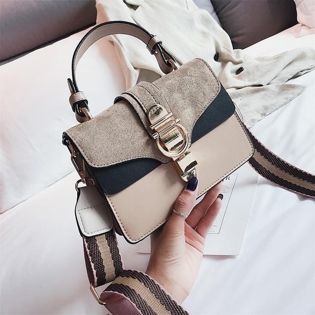SWDF New High Quality Women Handbags Bag Designer Bags Famous Brand Women Bags Ladies Sac A Main Shoulder Messenger Bags Flap 5