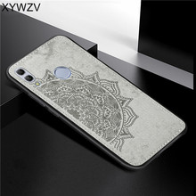 Huawei Honor 10 Lite Shockproof Soft TPU Silicone Cloth Texture Hard PC Phone Case For Honor 10 Lite Cover For Honor 10 Lite