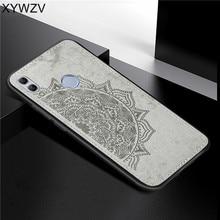 Huawei Honor 10 Lite Ударопрочный Мягкий ТПУ силиконовый тканевый Жесткий ПК чехол для телефона Honor 10 Lite чехол для Honor 10 Lite