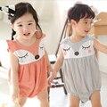 Bebé novo roupas de verão bonito Dos Desenhos Animados bodysuits bebes recém-nascidos bodysuits do bebê menino roupa do bebê bodysuits roupas do corpo do bebê