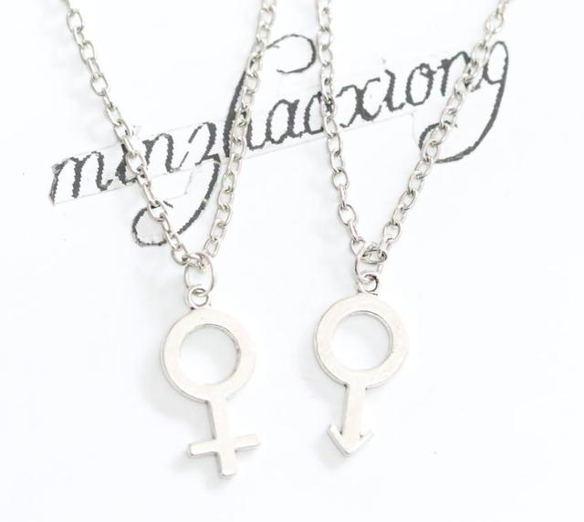 Female Symbol Women Feminist Venus Charm Pendant Necklace Fashion
