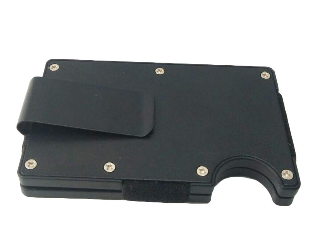 Artmi Mens Slim Money Clip Ljus Namn Hållare Aluminium RFID - Plånböcker - Foto 4
