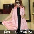 Free Shipping New Red Oversized Cotton Satin Leopard Print Scarfs Womens Fashion Luxury Pashmina Scarf Ladies Shawls and Wraps