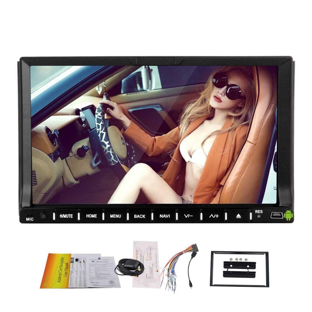 Eincar Android 6.0 4 ядра автомобильный DVD Развлечения двойной din 7 GPS Навигации 2Din стерео аудио плеер в тире bluetooth