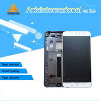 Axisinternational LCD Screen Display Touch Panel Digitizer With Frame For 5 36 Meizu MX4 Black White