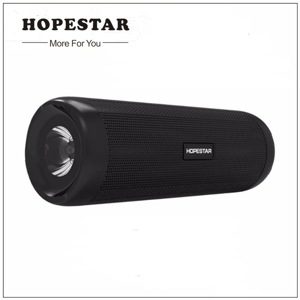 цена на HOPESTAR Portable Wireless WaterProof Bluetooth Speaker IPX6 Column Box Bass Mini Subwoofer Stereo Loudspeaker as Power Bank