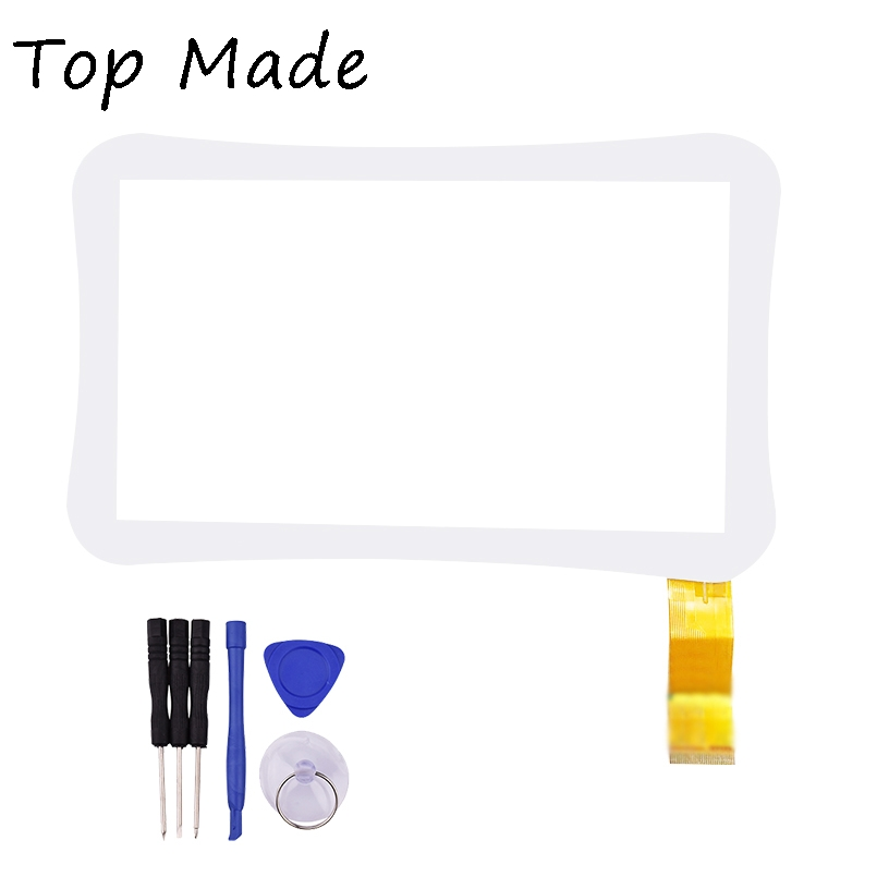 7 inch WJ915-FPC-V1.0 ZHC-Q8-057A for TurboPad MonsterPad Tablet Touch panel Digitizer Glass Sensor Replacement Free Shipping for sq pg1033 fpc a1 dj 10 1 inch new touch screen panel digitizer sensor repair replacement parts free shipping