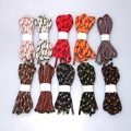 "63"" Round Shoelaces Shoe Laces Cord String w. pattern f. Martin Boots Sport Shoes 10 Color 160cm"