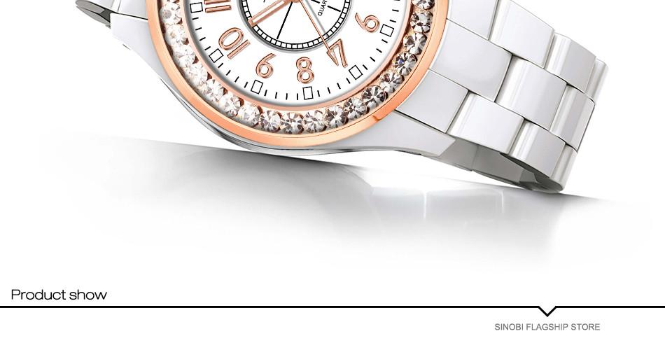 HTB1F15HSpXXXXbdaXXXq6xXFXXXw - SINOBI Fashion Women Diamond Ceramics Watch Band Wrist Watch-SINOBI Fashion Women Diamond Ceramics Watch Band Wrist Watch
