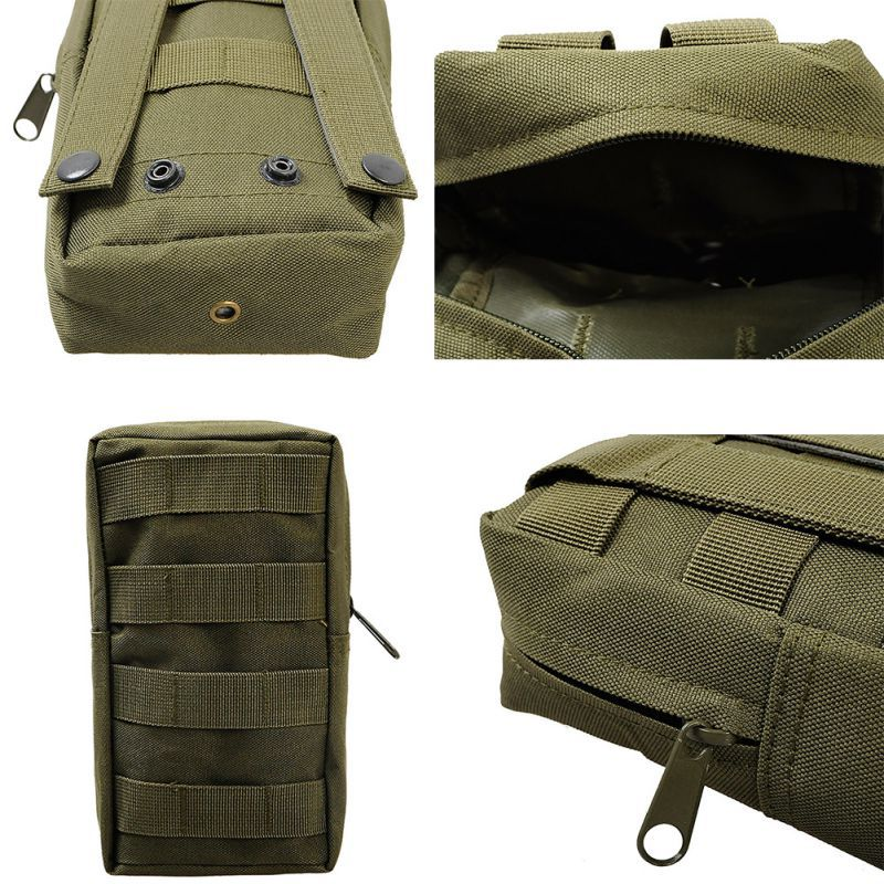 fe9130dbb46c US $3.45 10% OFF|Tactical Vest Pouch Accessory Tool Waist Bag Nylon Molle  Utility Fanny Pack Military Paintball Outdoor Hunting First Aid Bags-in ...