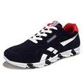 El envío Libre 2016 Hombres Zapatos de Deporte de Encaje Hasta Zapatos Deportivos Planos de Los Hombres Zapatos de Malla Transpirable Hombres Zapatos Casuales MFT 24