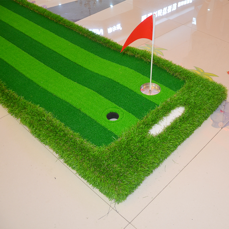 Image 5 - Golf Putting Green Indoor&Outdoor Residential Putting Mat Backyard Portable Golf Practice Putting Trainer Mat for Golfer-in Golf Training Aids from Sports & Entertainment