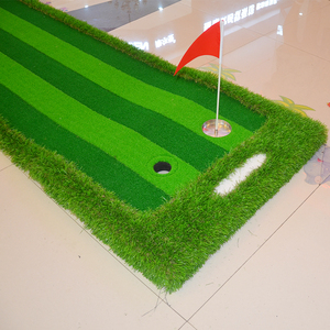 Image 5 - Golf Putting Green Indoor&Outdoor Residential Putting Mat Backyard Portable Golf Practice Putting Trainer Mat for Golfer
