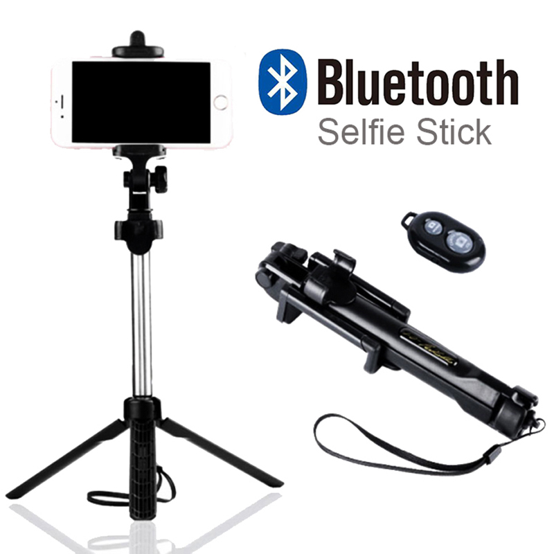 Foldable Perche Selfie Monopod Universal Selfie Stick Bluetooth With Button For font b Android b font