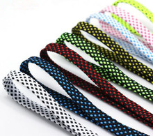 "New 10 Colors 47"" Double Color Flat Shoe Laces Shoestrings Walking/Sports Fitness Shoelaces One Pair Free Shipping"