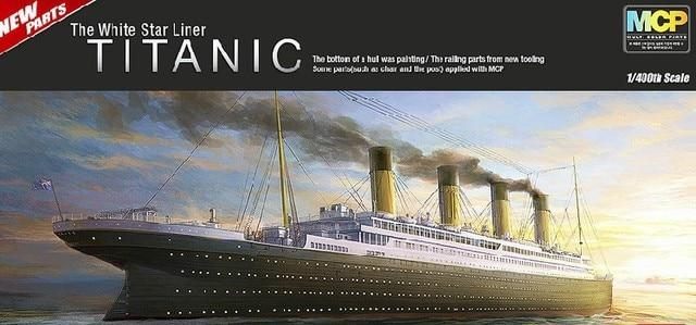 MOHS ACADEMY The Titanic Ship Model Luxury Cruise Ship - Model cruise ship kits