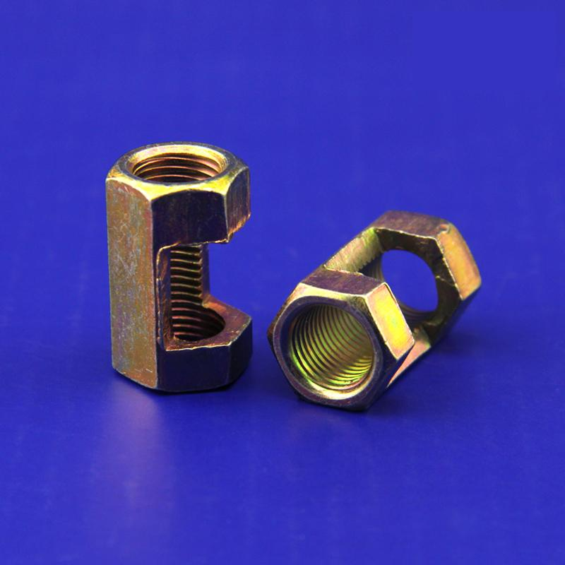 10 Pieces Lot M10 Hexagonal Nut Fastening Thread Rod