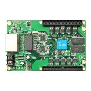 Image 2 - Huidu R500 מלא סינכרוני צבע led וידאו תצוגת HD R500 led מקלט עבודה יכול עם בקרת כרטיס HD C10C/HD C35/HD A3/T901