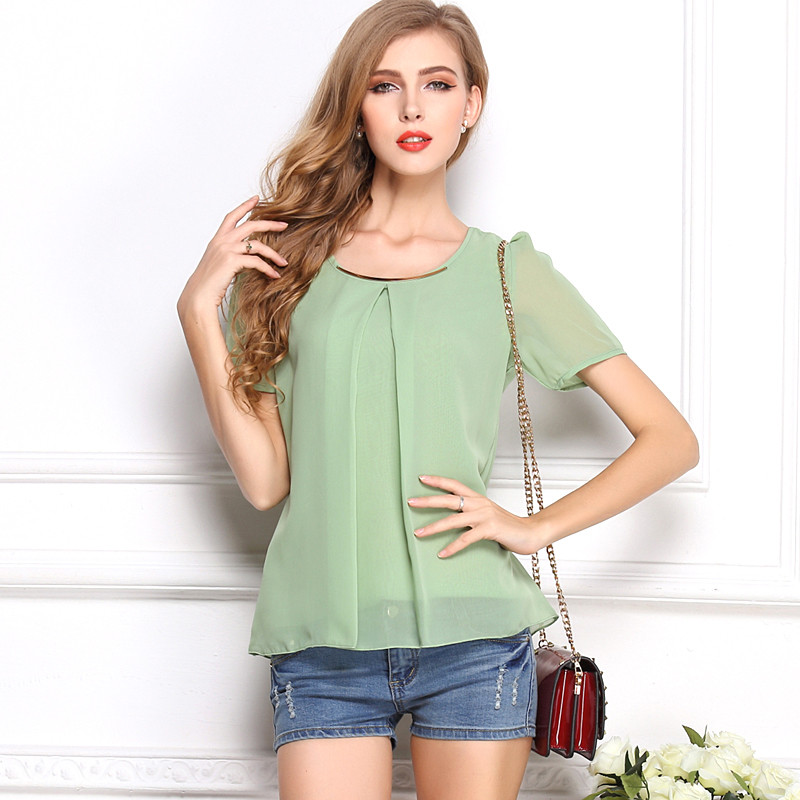 Online Get Cheap Light Green Women Shirt Blouse -Aliexpress.com ...