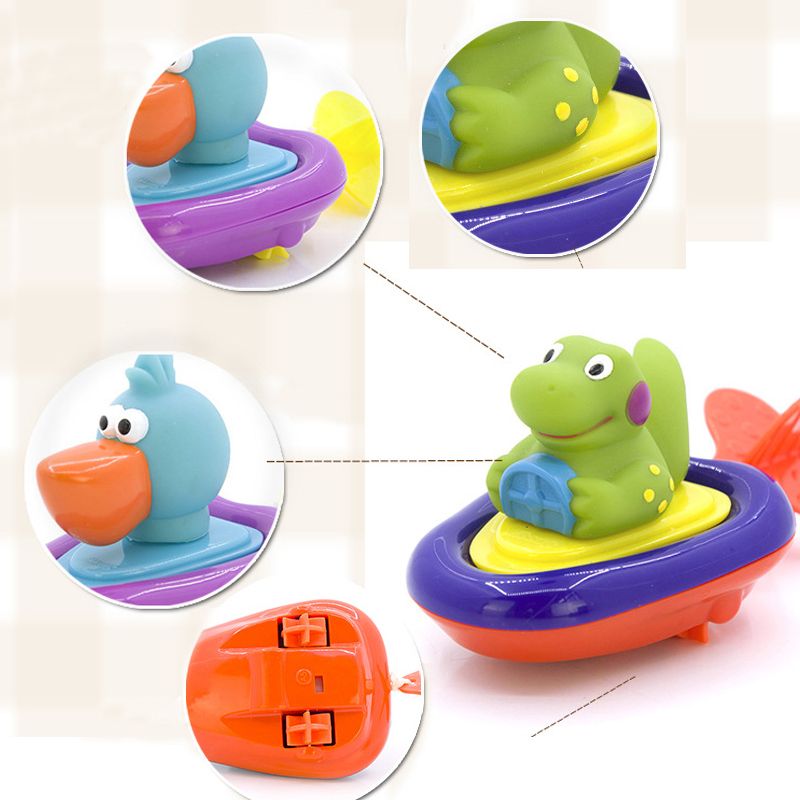 Cute Animals Baby Bath Toys For Children Water Toys For Infant Baby ...