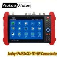 Wanglu IPC9800 7 дюймов CCTV тестер монитора TVI CVI AHD SDI CVBS IP HD коаксиальный Камера тестер с WI FI/PoE выходная мощность/HDMI выход