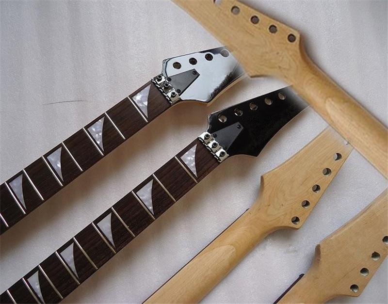 disado 22 Frets Electric Guitar թխկի պարանոցի - Երաժշտական գործիքներ - Լուսանկար 4