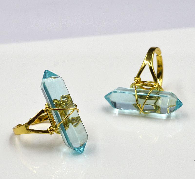 Atemberaubend Golddraht Umwickelte Ringe Galerie - Elektrische ...
