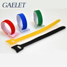 10pcs 12*150mm Nylon Reusable Cable Ties with Eyelet Holes back cable tie nylon hook loop fastener management ZK30 20pcs reusable hook and loop fastening cable ties with microfiber cloth and 20pcs silicone bag ties cable management