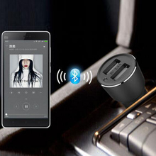 Original Xiaomi ROIDMI 2S Bluetooth Handfree Car Charger With Mic & Music Player Speaker Dual USB 5V 3.8A For iPhone and Android