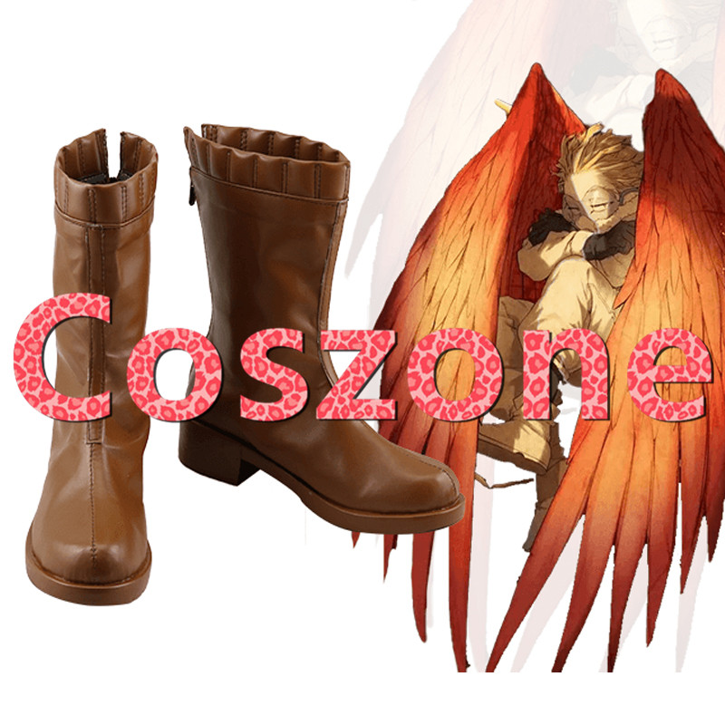 My Hero Academia Cosplay Boku No Hero Akademia Hawks Brown Cosplay Shoes Boots Halloween Cosplay Costume Accessories