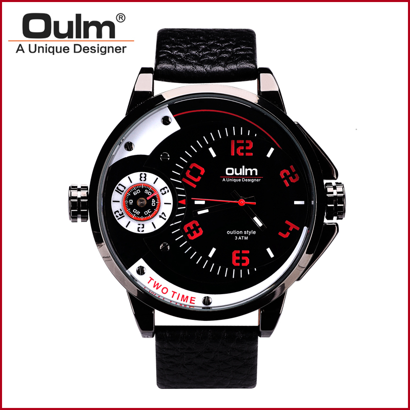 font b Oulm b font HP3706 Mens Watches font b Luxury b font Army Watch