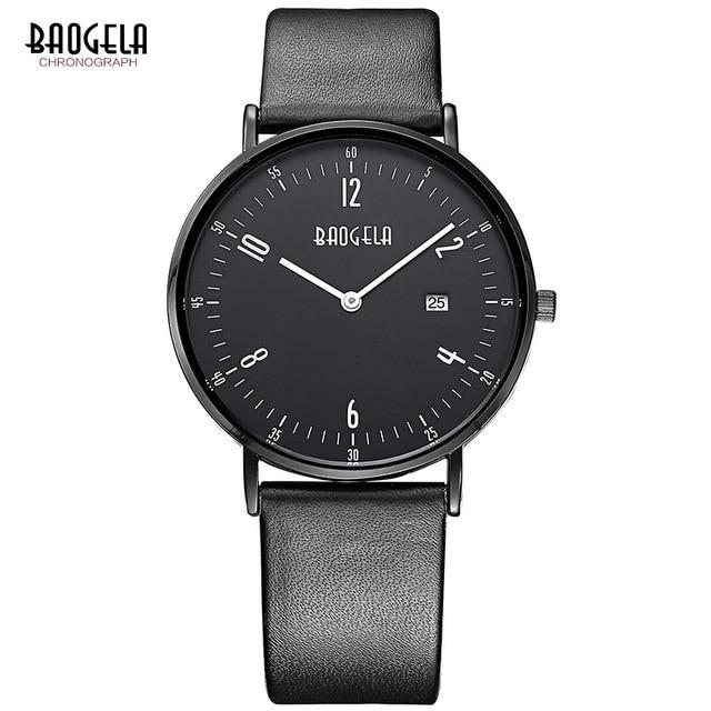все цены на 2017 New Fashion Design Analog Quartz Wrist Watch Luxury Brand Casual Sports Men Watches Leather Band Business Wristwatch uhren онлайн