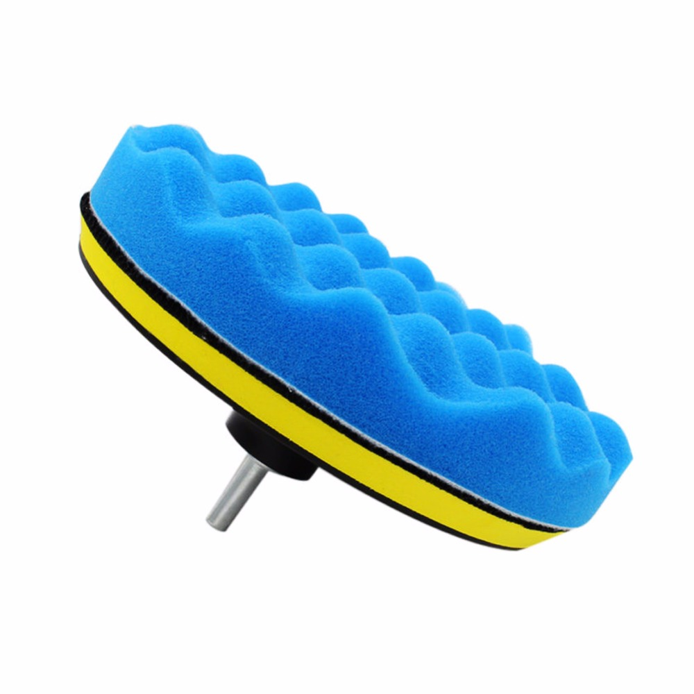 10 Pieces 6 Inch Car Polishing Pads Sponge Buffing Waxing Pad For Car Polisher
