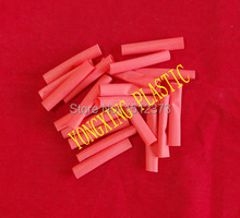 цена на 250pcs(11.25Meter) /lot 6.0mm 4.5cm length pvc heat shrink tube ratio 2:1 sleeving