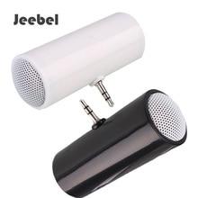 Jeebel Mini ลำโพง 3.5 มม. สำหรับโทรศัพท์สมาร์ท MP4 แท็บเล็ต PC แล็ปท็อปแท็บเล็ตโมโนลำโพงเครื่องขยายเสียงเพลงลำโพง