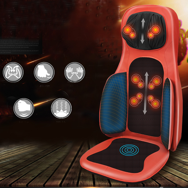 Hot Sale 4D Massage Pad Cervical Massage Device Multifunctional Neck Pillow Full-body Cushion Car Massage Cushion hot sale cayler